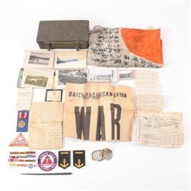 WWII Military Memorabilia