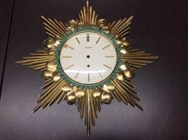 Funghans vintage MCM clock