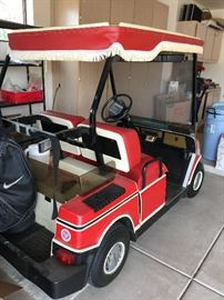 1993 Hyundai Golf Cart