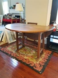 Excellent Antique Mission/Arts/Crafts/Craftsman Drop Leaf Table and very good condition