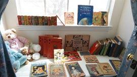 Antique to vintage children's books