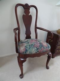 2 Ethan Allen arm chairs