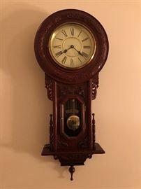 Regulator Pendulum Wall Hanging Clock