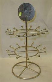 rotating jewelry display stand