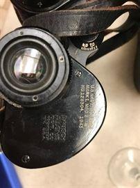 WWII Binoculars