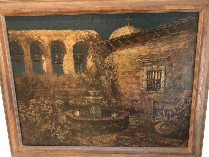 Geoffrey Holt Original Oil Painting