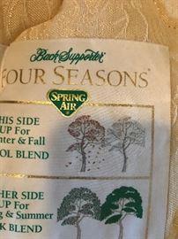 Spring Air Four Seasons Pillowtop