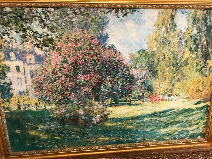 Monet Canvas Giclee