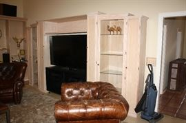 Nice large handcrafted by the owner wall unit