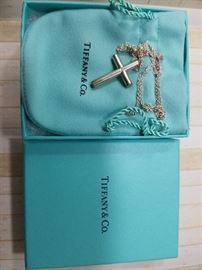 Tiffany & Co. Sterling cross