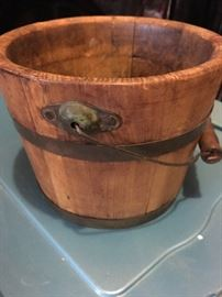 Old Wood Bucket