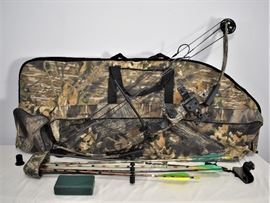 PSC Archery Bow, Case and other accessories