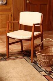 Mid-century modern chair made in Denmark.