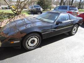 1985 Corvette with  13k miles!