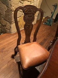 dining room chairs by Henredon