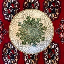 Indian Enamel Dish