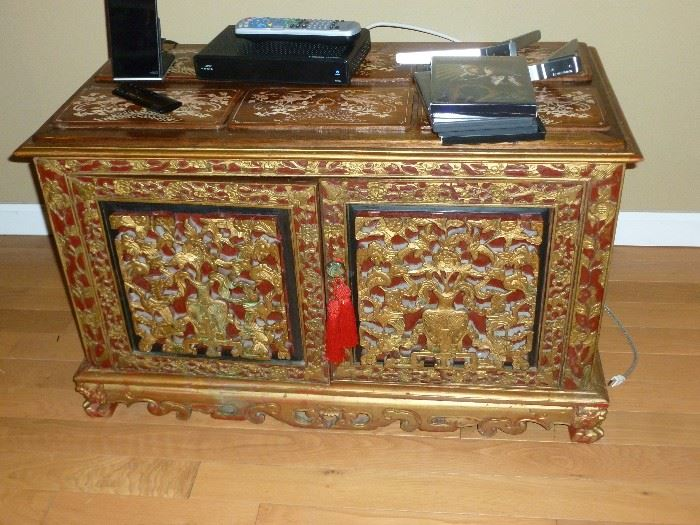 Asian-style chest