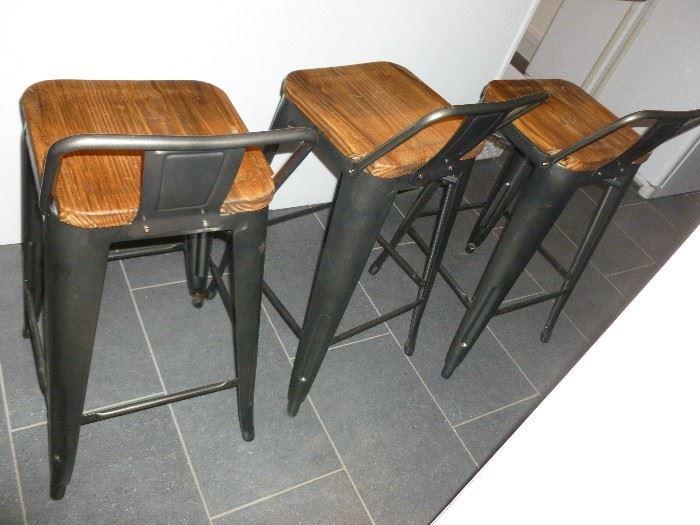 3 unique bar stools