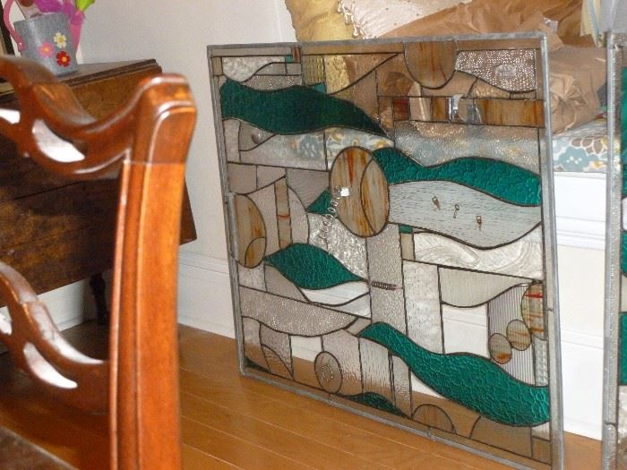 another funky stained glass window