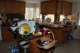 Full to the brim kitchen