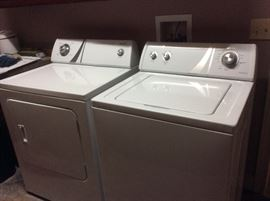 Admiral matching set WASHER and DRYER - Excellent condition, work fantastic
