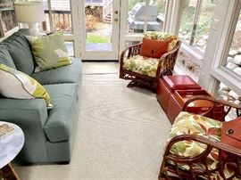 Sofa, patio / sunroom furniture
