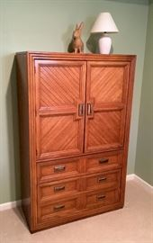 Bedroom furniture, dresser, wardrobe