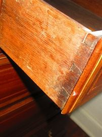 Detail of Late 18th, Early 19th C. Continental Desk