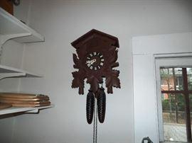 """German """"Kuckuks"""" clock at its finest"""