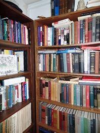 Lots of vintage books