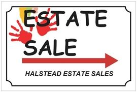 Look for our Estate Sale signs