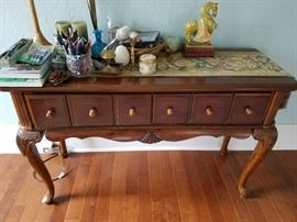 Sofa/Side Board/Buffett Table with Drawers
