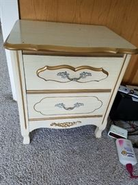 Shabby Chic/French Provincial Bedside Chest