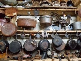 Vintage and antique cast iron