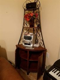 Corner Unit/ AM-FM radio with CD player (sold seperately)