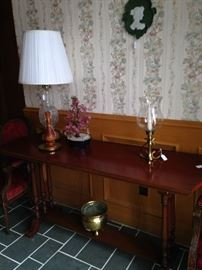 Two-tier entry table