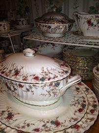 "More of the gorgeous Minton ""Ancestral"" English bone china"