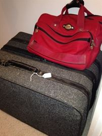 Luggage and carry-on bag