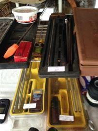 Gun cleaning equipment