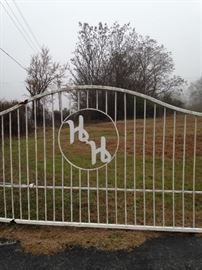 """ H & H "" is on the gate----east side of Hwy 110 South"