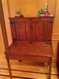 Antique desk with great storage