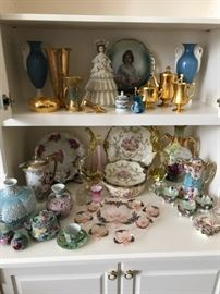 Some of the porcelain collection being offered
