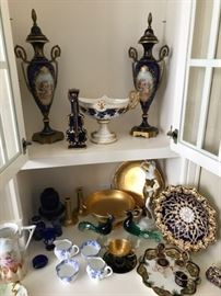 More of the porcelain collection
