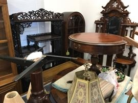 """We will be staging all this furniture in the house after the April sale...  It will all be offered in the May """"Phase Two"""" sale."""