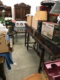 All of this will be staged in the house and will be part of the May sale.  We don't know what's in the boxes!