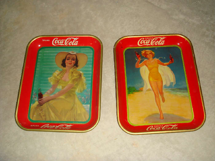 Coca Cola Trays