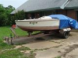 Boat with small block Chevy 283