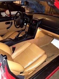 Saddle Leather Interior!...