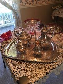 Beautiful Heritage Tea/Coffee Set