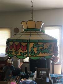 Vintage Coke Hanging Lamp
